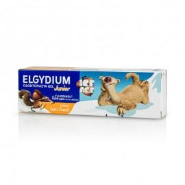 Elgydium Toothpaste Junior Ice Age Tutti Frutti, Παιδική Οδοντόπαστα Για Παιδιά 7-12 Ετών Με Γεύση Φρούτων, Fluorinol 1400ppm, 50ml