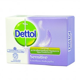 DETTOL SOAP SENSITIVE  ΕΥΑΙΣΘ. ΕΠΙΔΕΡΜΙΔΕΣ  100 GR