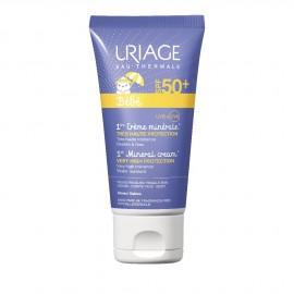 Uriage Παιδικό Αντηλιακό Babe 1st Mineral Cream SPF50+ 50ml