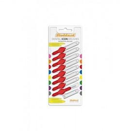 Stoddard Interdental Brushes Μεσοδόντια Βουρτσάκια 0.9mm Κόκκινο 8τεμ.