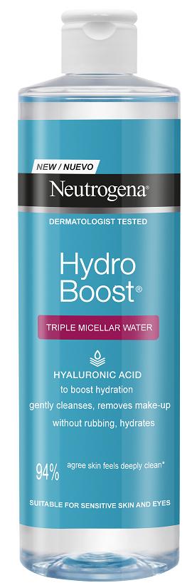Neutrogena® Hydro Boost Micellar Water, Νερό Καθαρισμού για το πρόσωπο, 400ml
