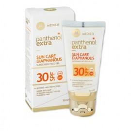 Panthenol Extra Sun Care SPF30 Diaphanous Face Gel Διάφανη Αντιηλιακή Κρέμα-Gel Προσώπου 50 ml