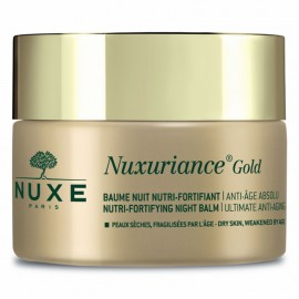 Nuxe Nuxuriance Gold Nutri-Fortifying Night Balm Ultimate Anti-Aging for Dry Skin 50ml