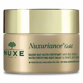 Nuxe Nuxuriance Gold Ultimate Anti-Aging Nutri-Fortifying Night Balm, Αντιγηραντικό Balm Νύχτας για Θρέψη & Ενυδάτωση 50ml