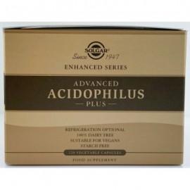 Solgar Advanced Acidophilus Plus Φόρμουλα Προβιοτικών για Αποκατάσταση της Εντερικής Χλωρίδας 120Caps (2x60caps)