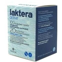 Laktera Αctive Προβιοτικό Συμπλήρωμα Διατροφής 14Caps.