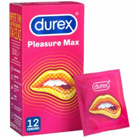 Durex Pleasuremax Προφυλακτικά με Ραβδώσεις & Κουκκίδες 12τμχ