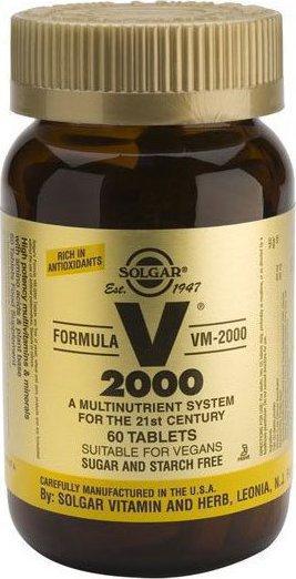 SOLGAR FORMULA VM 2000 TABS 60S