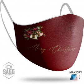 Unisex Μάσκα Προστασίας Merry Christmas 1, SAGG