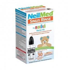 NeilMed Sinus Rinse, Παιδιατρικό Σύστημα Ρινικών Πλύσεων για παιδιά 4 χρονών και πάνω, 30 Φακελάκια