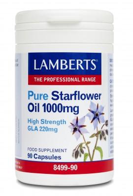 LAMBERTS PURE STARFLOWER OIL 90CAPS