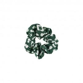 Medisei Dalee Λαστιχάκι Μαλλιών Από Μαλακό Ύφασμα Πράσινο Εμπριμέ, 1 Τεμάχιο