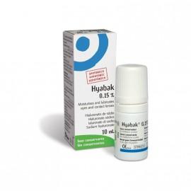 HYABAK 0,15% Eye drops Υαλουρονικού Νατρίου 10ml