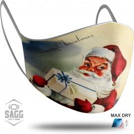 Παιδική Μάσκα Προστασίας Santa Claus 1, SAGG