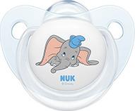 Nuk Trendline Disney Ελεφαντάκι Dumbo Σιλικόνης Λευκό 6-18m 1τμχ