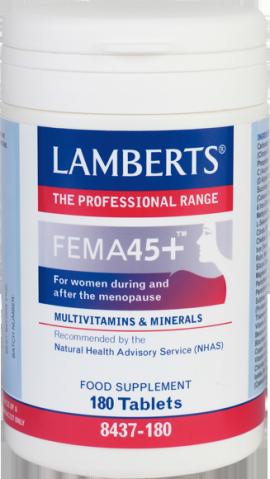 LAMBERTS FEMA 45+ 180TABS