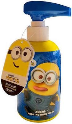 Corsair Toiletries Minions Farting Hand Wash Παιδικό υγρό σαπούνι χεριών με Μελωδία, 250ml