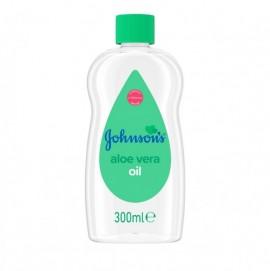 JohnsonS Baby Oil με Aloe Vera, Λάδι Σώματος με Αλόη, 300ml