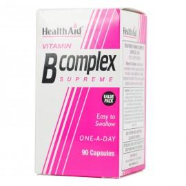 Health Aid Vitamin B Complex Σύμπλεγμα Βιταμινών Β, 90 caps