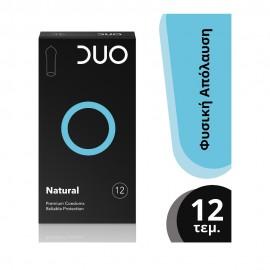 DUO Προφυλακτικά Premium Natural,12τμχ