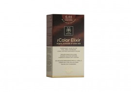 Apivita Βαφή Μαλλιών 6.44 My Color Elixir kit Μόνιμη ΞΑΝΘΟ ΣΚΟΥΡΟ ΕΝΤΟΝΟ ΧΑΛΚΙΝΟ