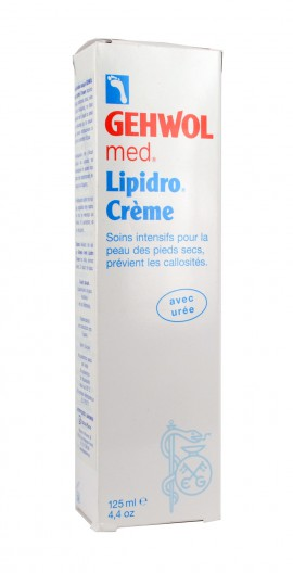 Gehwol med Lipidro Cream Υδρολιπιδική Κρέμα Ποδιών, 125ml