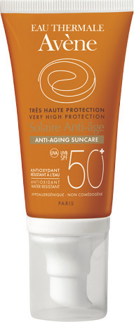 Avene Solaire Anti-age Dry Touch SPF50+, Αντηλιακή Κρέμα Προσώπου με Αντιγηραντική Δράση, 50ml