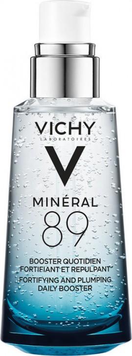 Vichy Mineral 89 Καθημερινό Booster Ενδυνάμωσης με Ιαματικό Μεταλλικό Νερό & Υαλουρονικό Οξύ, 50ml