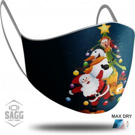 Παιδική Μάσκα Προστασίας Santa Claus 6, SAGG