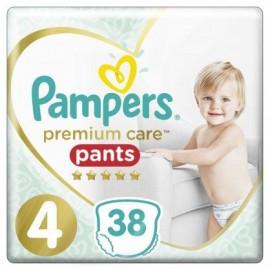Pampers Premium Care Pants Μέγεθος 4 9-15Kg 38 Πάνες-Βρακάκι