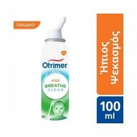 Otrimer Breathe Clean Kids Nasal Decongestant - Ήπιο σπρέι για μωρά, παιδιά και ενήλικες, 100ml