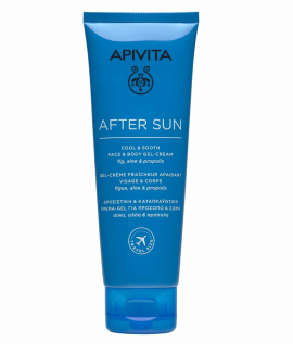 Apivita After Sun Cool & Sooth Face & Body Gel-Cream, 100ml