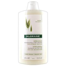 Klorane Oat Milk Gentle Shampoo Σαμπουάν με γαλάκτωμα Βρώμης για τα ευαίσθητα μαλλιά, 400ml
