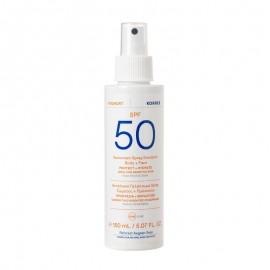 Korres Yoghurt Sunscreen Spray Body & Face Αντηλιακό Γαλάκτωμα Spray Σώματος & Προσώπου SPF50, 150ml
