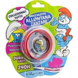 Brand Italia Αντικουνουπικό Παιδικό Βραχιόλι The Smurfs Red 1τμχ