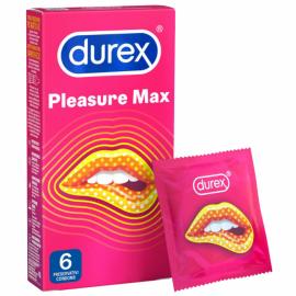 Durex Προφυλακτικά Pleasuremax 6τμχ