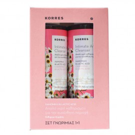 KORRES ΣΕΤ INTIMATE AREA CLEANSER 1+1 ΔΩΡΟ 2x250ML