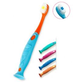 Elgydium Kids Οδοντόβουρτσα για παιδιά 2-6 ετών Μπλε/πορτοκαλί