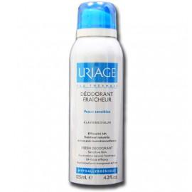 Uriage Deodorant Fraicheur Αποσμητικό Σπρέι 24ωρης Προστασίας, για Ευαίσθητα Δέρματα, 125 ml