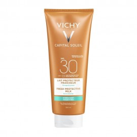 Vichy Capital Soleil Beach Protect SPF30 Fresh Hydrating Milk Face & Body 300ml