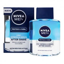 Nivea Men After Shave 2 σε 1 με Προ-Βιταμίνη Β5 & Γρήγορη Απορρόφηση, Protect & Care, 100ml