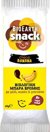 Bioearth Snack Choco Banana, 60g