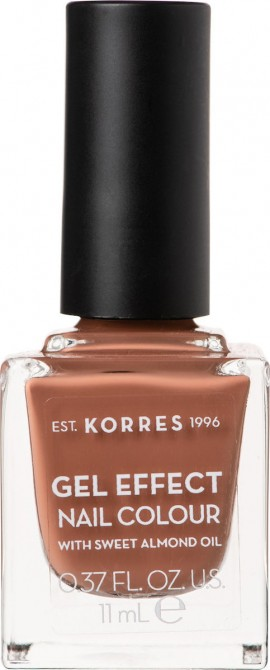 Korres Gel Effect Nail Colour 37 Frozen Mocha 11ml