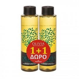 Olivia Gift Set Shampoo Fragile Hair Σαμπουάν για Ευαίσθητα Μαλλιά 2x300ml 1+1 Δώρο