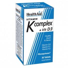 Health Aid K complex + Vit D3 30tabs