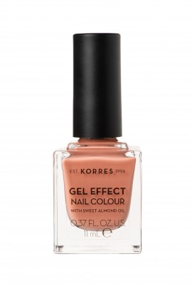 Korres Gel Effect Nail Colour 42 Peaches NCream 11ml