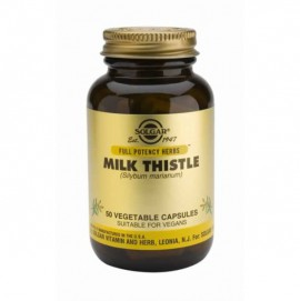 SOLGAR MILK THISTLE 100MG 50VCAP