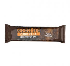 Grenade Carb Killa High Protein Bar Fudge Brownie Μπάρα Υψηλής Πρωτείνης  60gr