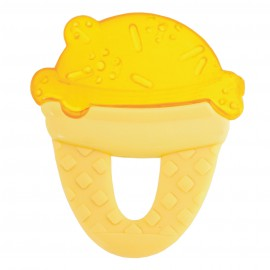Chicco Δροσιστικός Κρίκος Οδοντοφυϊας Κίτρινο Παγωτό 4+