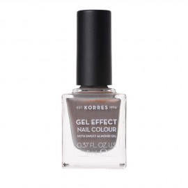 Korres Gel Effect Nail Colour No.70 Holographic Ash Βερνίκι Νυχιών, 11ml